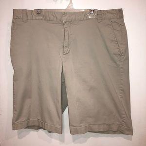 Merona khaki / tan long shorts
